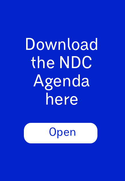 Download the NDC Agenda here